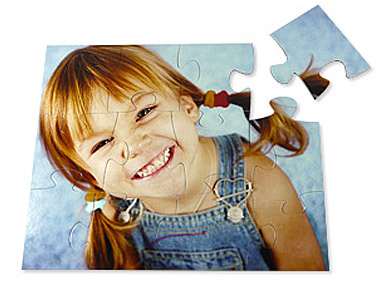 12 piece kids photo puzzle