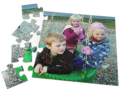 20 piece kids photo puzzle