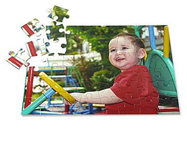 50 piece kids photo puzzle