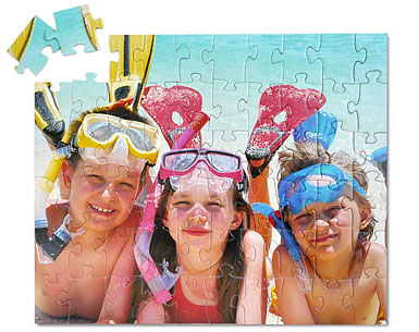 60 piece kids photo puzzle